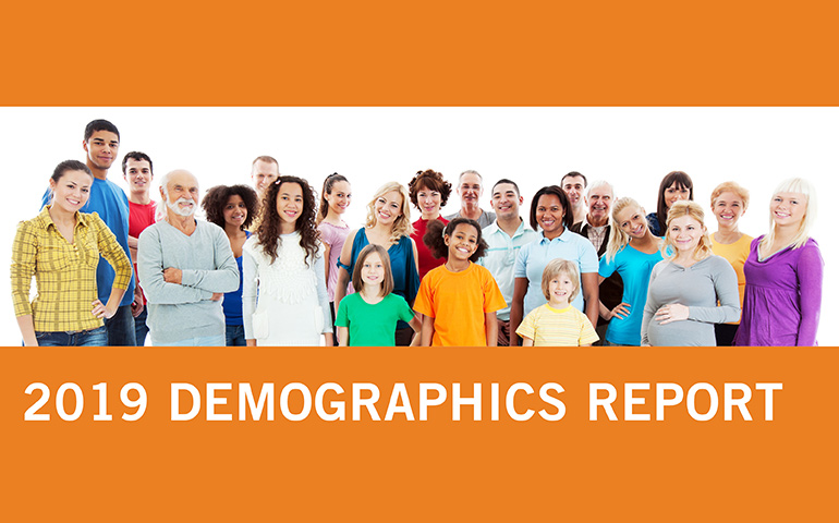 Image of Cover of the 2019 Demographics Report