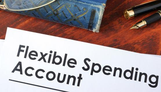 Image of Flexible Spending Account form.