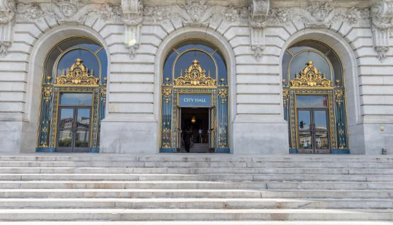 Image of San Francisco City Hall entrance