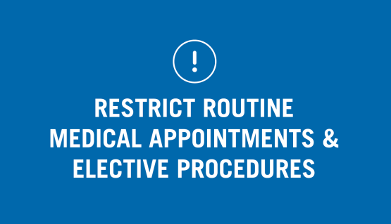 San Francisco Health Officer Issues Order Restricting Routine Medical Appointments and Elective Procedures