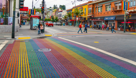 San Francisco Pride City Streets